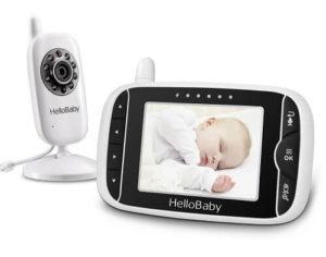 Vigilabebes con cámara HelloBaby HB32